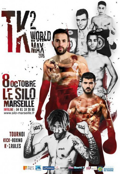 TK2 World Max 2016 fight card, k1 schedule, kickboxing news 2016