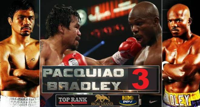 Manny Pacquiao vs. Timothy Bradley 3