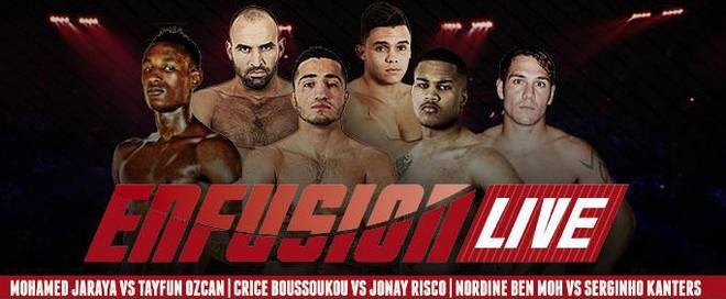 Enfusion Live 41 Fight card Promo