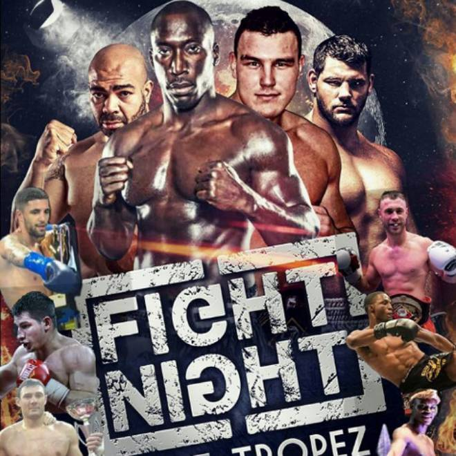 Fight Night Saint-Tropez2016 Fight card
