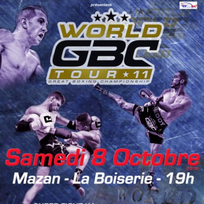 World GBC Tour 11 Fight card, kickboxing news 2016, новости к-1 2016