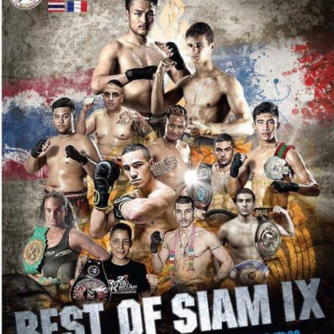 Best Of Siam IX Fight card, muay thai news 2016, новости тайский бокс