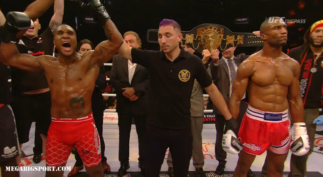 Jason Wilnis new champion Glory ws