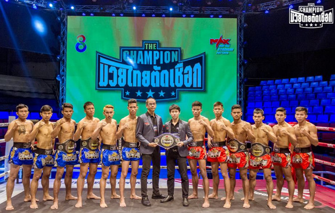 max muay thai the champion 03.12.2016 results & video