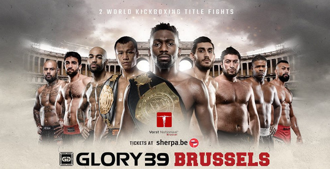 Glory 39 fight card, Глори 39 состав пар