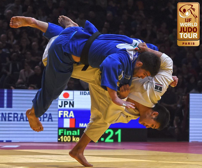 #JudoParis2017, Grand-Slam Paris 2017, новости дзюдо 2017