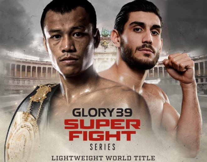 Glory 39 brussels Sittichai vs Dylan Salvador, kickboxing news