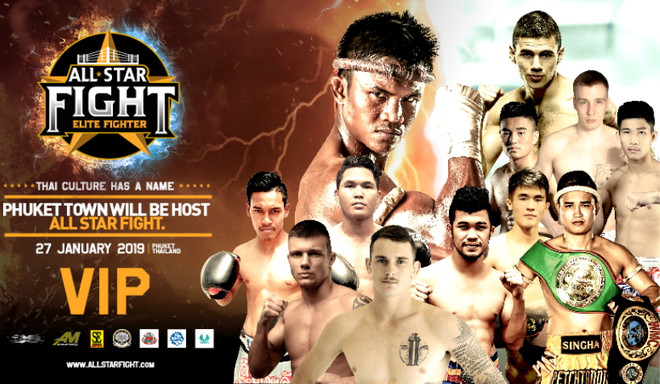 All Star Fight 7, Buakaw vs Larsen fight video